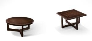 table basse contemporaine / en bois massif / en hêtre / en ébène de macassar