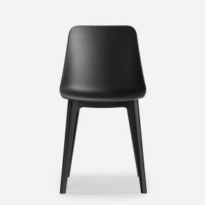 MAX DESIGN: chaise contemporaine / avec accoudoirs / piètement standard
