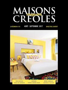 Magazine : Maisons Créoles – Août Septembre 2017