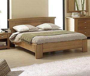 lit bois design italien