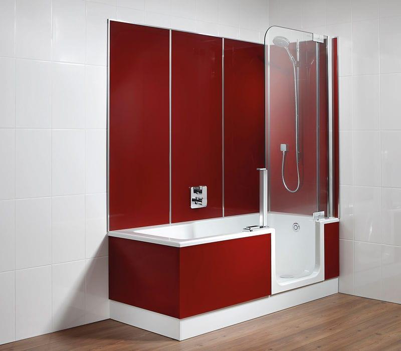 panneau dcoratif composite pour agencement intrieur pour salle de bain mural