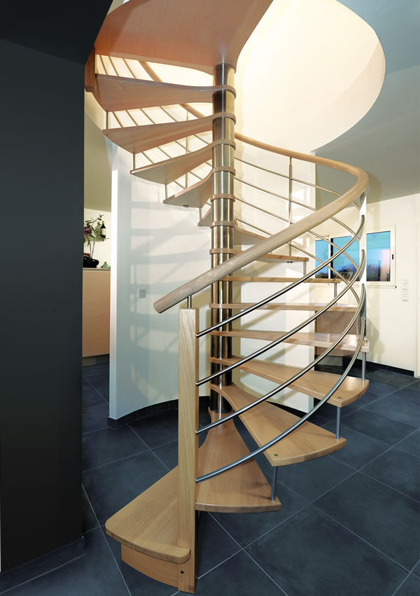 escalier helicoidal riaux