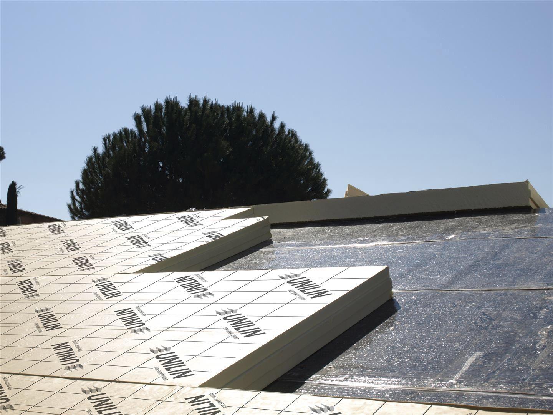 ... isolant en polyuréthane / thermique / pour toiture / pour isolation  thermique par lu0027extérieur ...