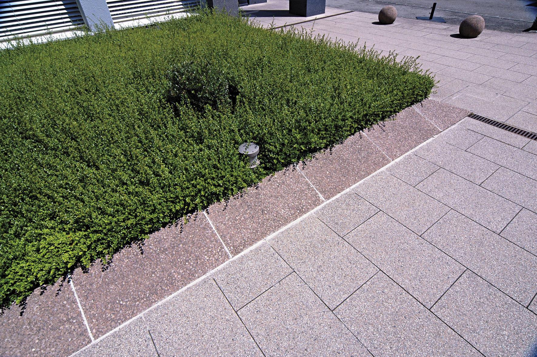 Bordure de jardin / en pierre reconstituée / linéaire - CANOPEE ...