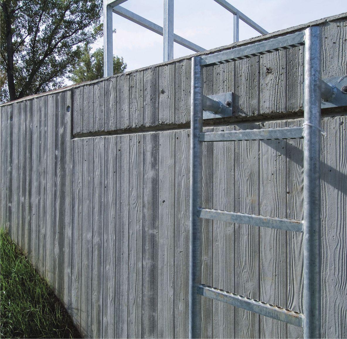 Coffrage beton pour muret