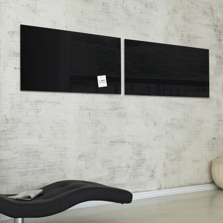 Tableau Magnétique Mural En Verre Artverum 130 X 55 Cm Gl240