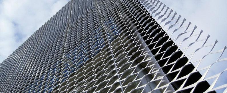 Souvent Tôle métallique métal déployé / perforée / aluminium / pour  KR15