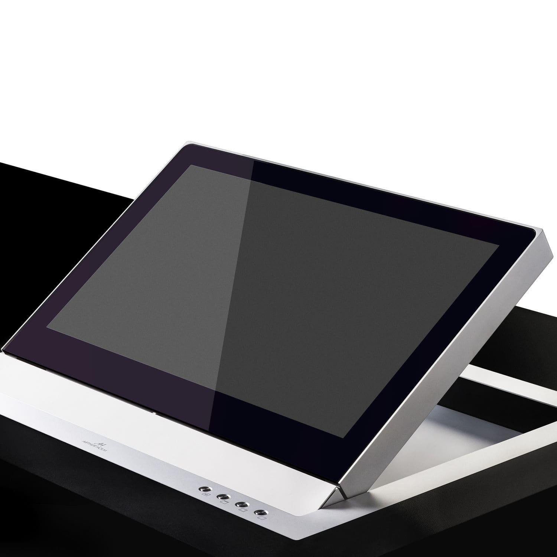 Cran Tactile Pour Table De Conf Rence Mural Rabattable  # Image Des Table Pour Les Ecrans
