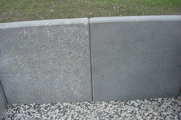 mur de soutènement en béton / préfabriqué / en éléments