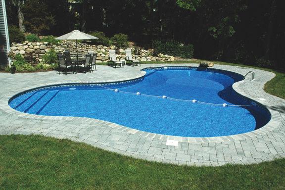 piscine enterrée en acier