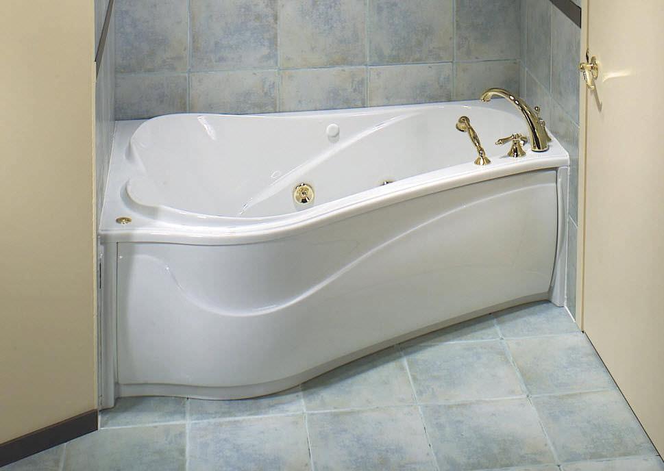 Baignoire en acrylique - VICHY 6043 ASY - MAAX bathroom