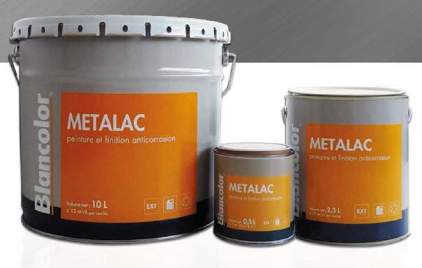 Primaire Pour Métal / Glycéro / Extérieur / Antirouille - Metalac