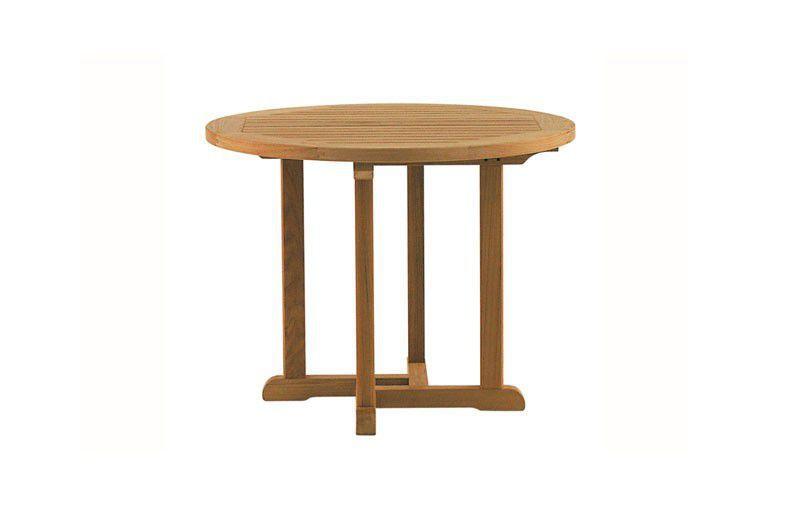 Table classique / en teck / ronde / de jardin - BARKLEY - Tectona