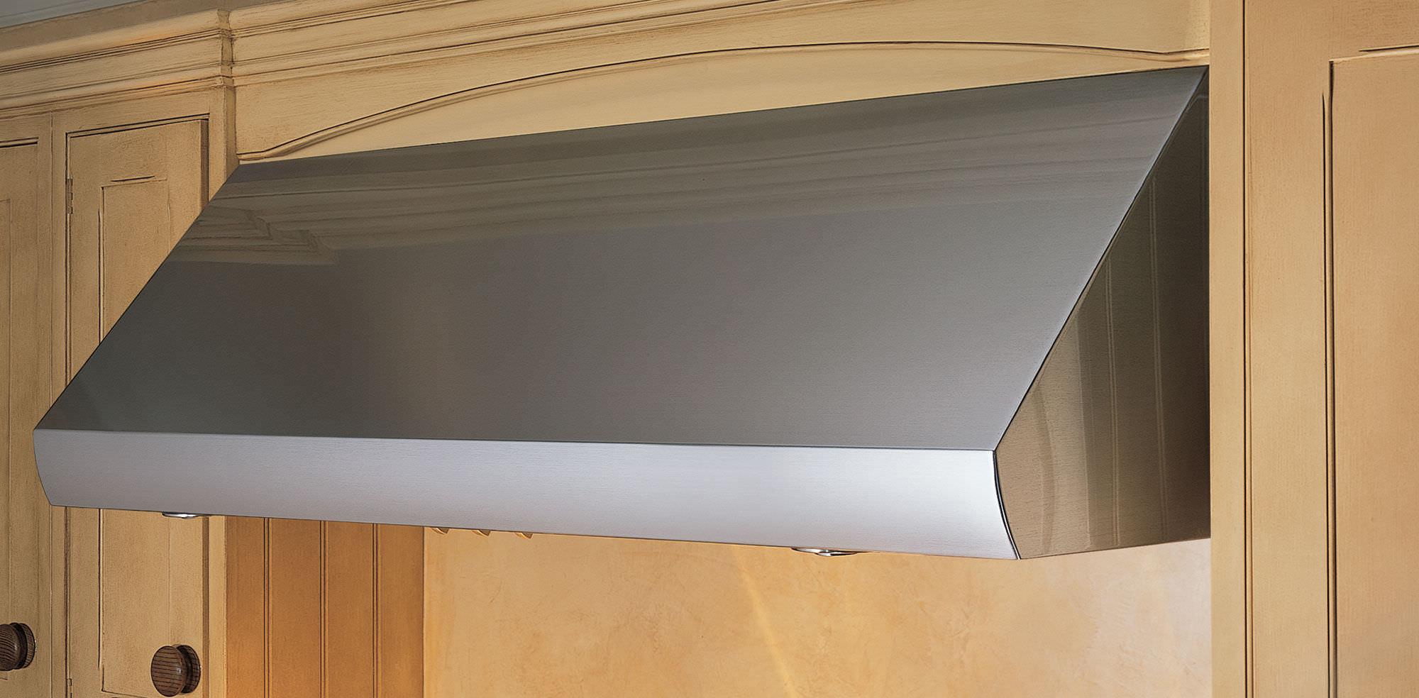 hotte de cuisine murale / avec éclairage intégré - pro - sub-zero - Hotte De Cuisine Professionnelle