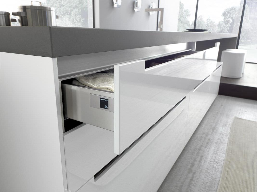 Tiroir pour cuisine - LINEA by Marconato  - Cuisine Comprex