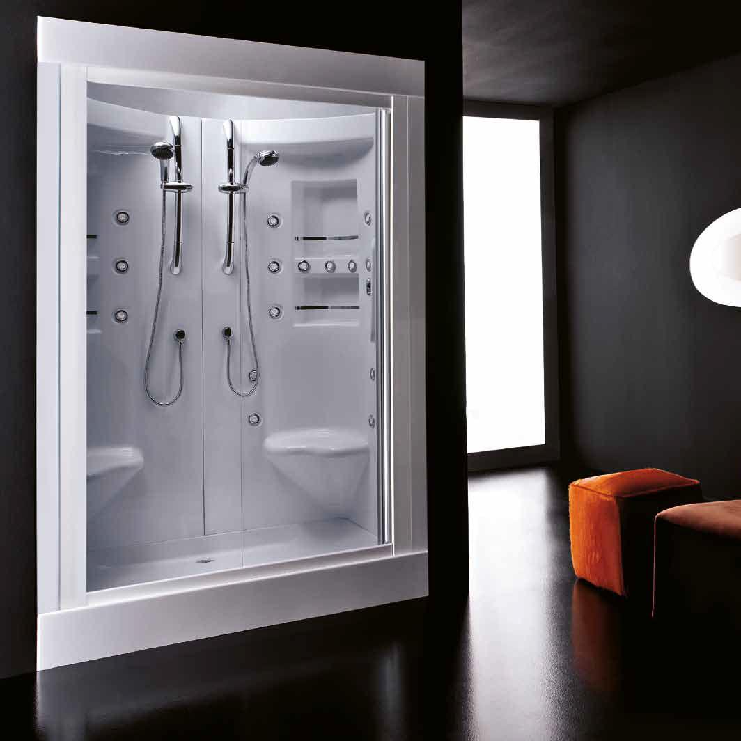 cabine de douche double place
