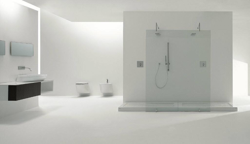 Receveur De Douche Rectangulaire / En Céramique - For.Me - Nic Design