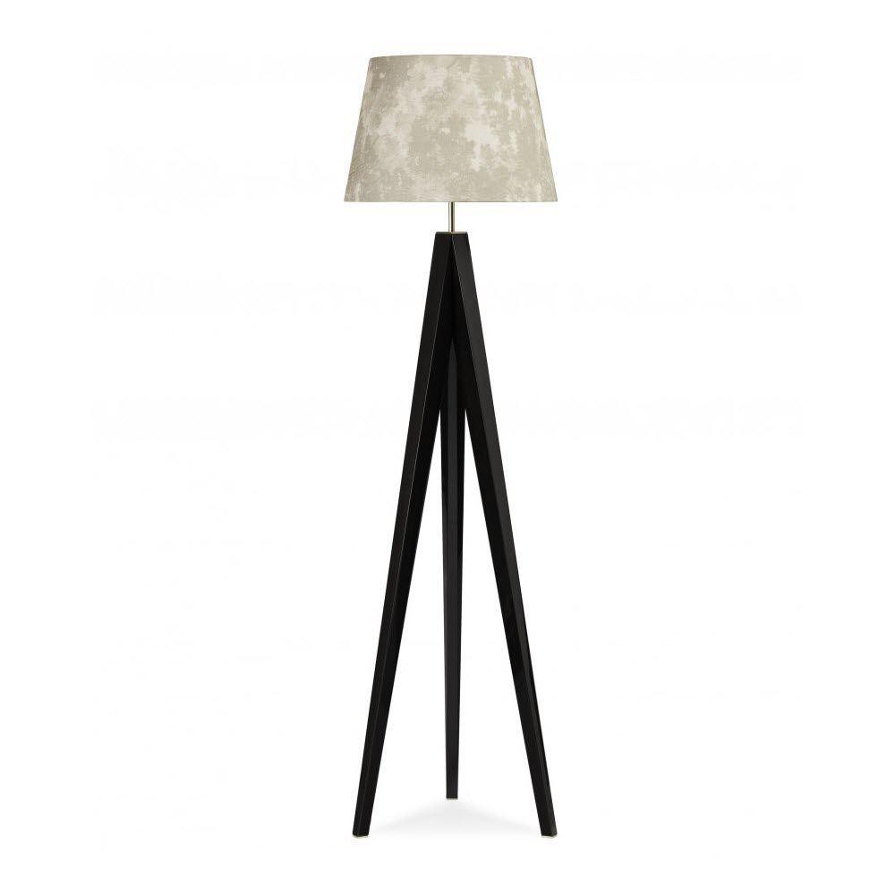 Casa Lampe lampe sur pied / classique / en chêne / en tissu - emme - giorgio