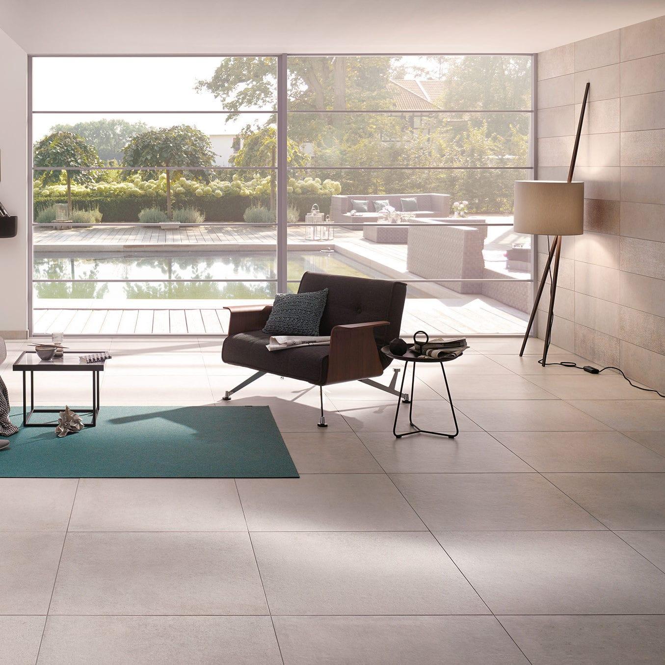 carrelage d'intérieur / de salon / de sol / mural - beton - steuler