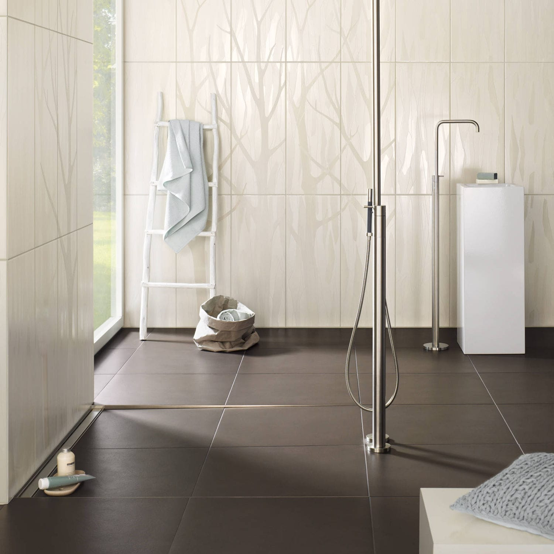 Carrelage Salle De Bain Pose Horizontale ~ carrelage d int rieur de salle de bain mural en gr s silk