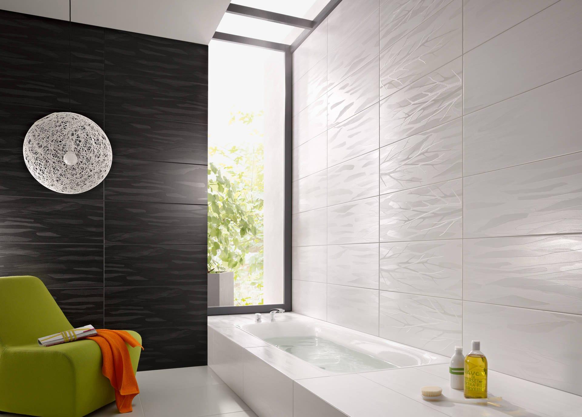 carrelage d intà rieur de salle de bain mural en gràs silk