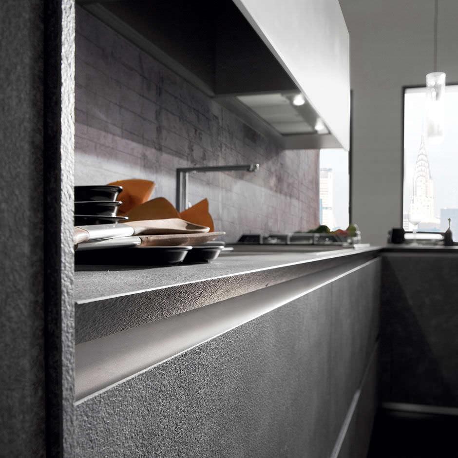 Cuisine contemporaine / en stratifié / en L - CRETA CORNER by Centro ...