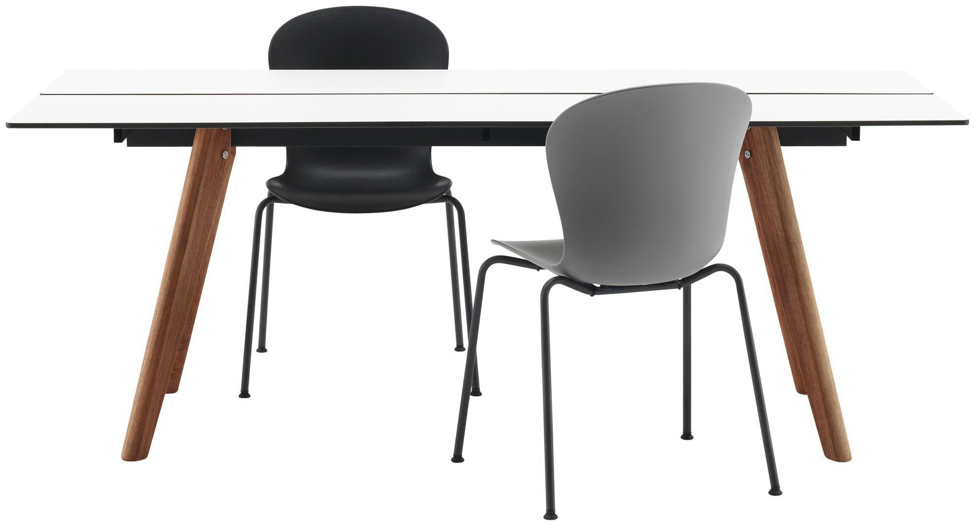 table manger en bois en stratifi adelaide boconcept with table ronde boconcept - Boconcept Esstisch