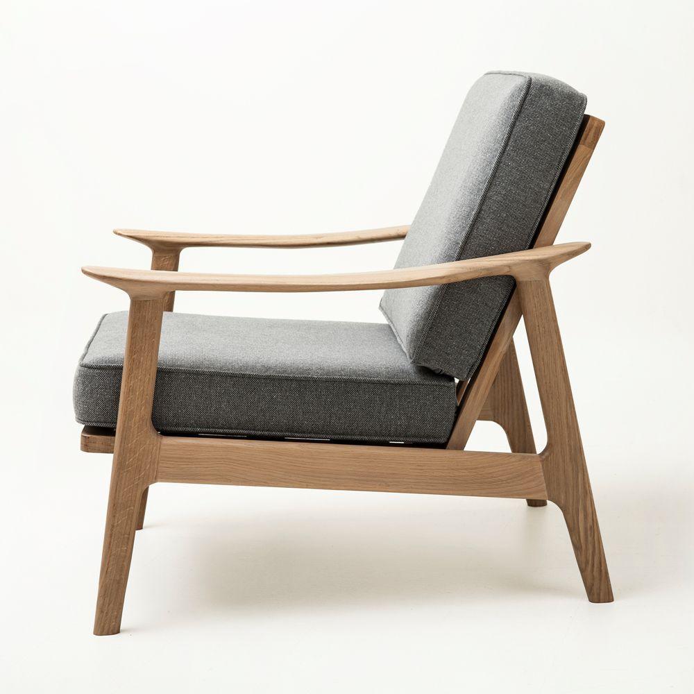 Bois 8nowpkx0 Chêne Design Tissu Fauteuil En Scandinave Massif dthsQrC