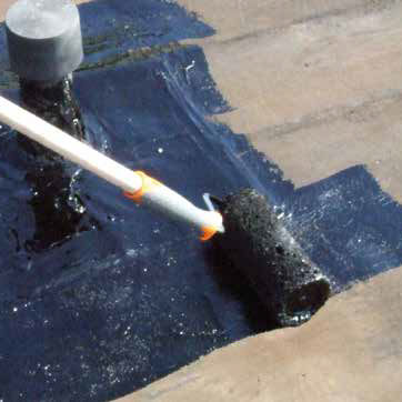 tanchit Bitumineuse De Terrasse  En lastomre  Idroplast