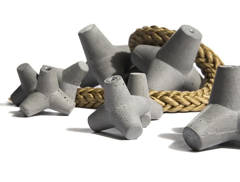 bouton de meuble contemporain / en béton - marine - urbi et orbi - Bouton De Meuble Design