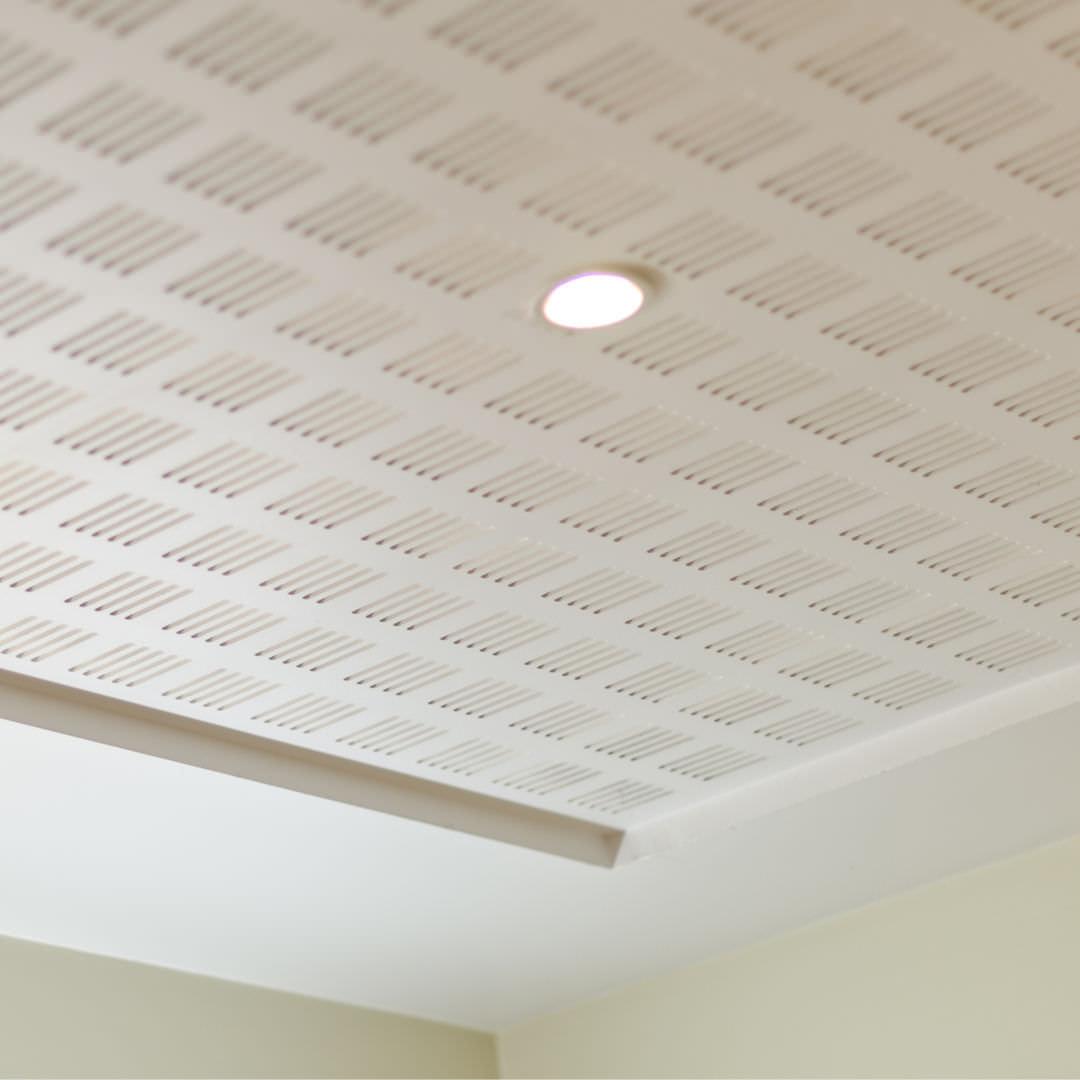 Supérieur Platre Staff Plafond #9: Faux-plafond En Plâtre / En Dalles / Acoustique / Perforé GEODECO® GEOSTAFF  ...