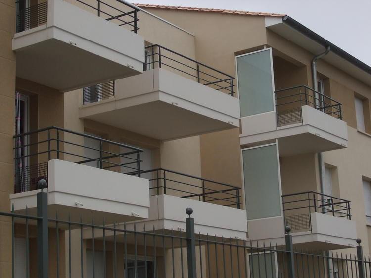 Balcon beton