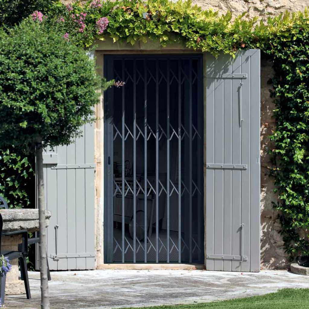 Grille De Défense Amovible Pour Porte Pour Fenêtre Sécuritair