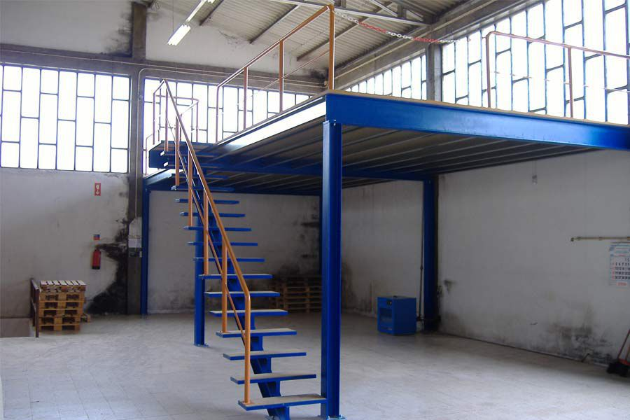 mezzanine en acier - pnb