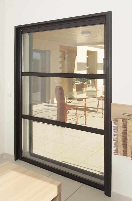 Moustiquaire Coulissante Pour Porte Fenêtre 1440 Kastelis Kawneer