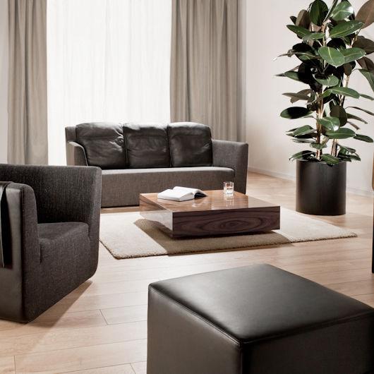 3de4f700163b08 canapé contemporain   en cuir   en tissu   3 places - NOBEL by Tomek Rygalik