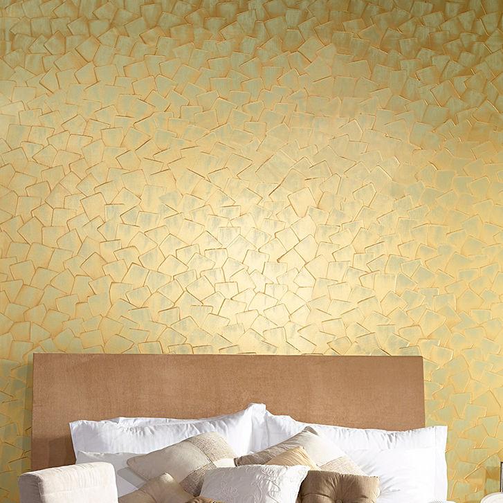 Peinture Décorative Pour Mur Intérieure Effet Métallisé - Peinture murale a effet