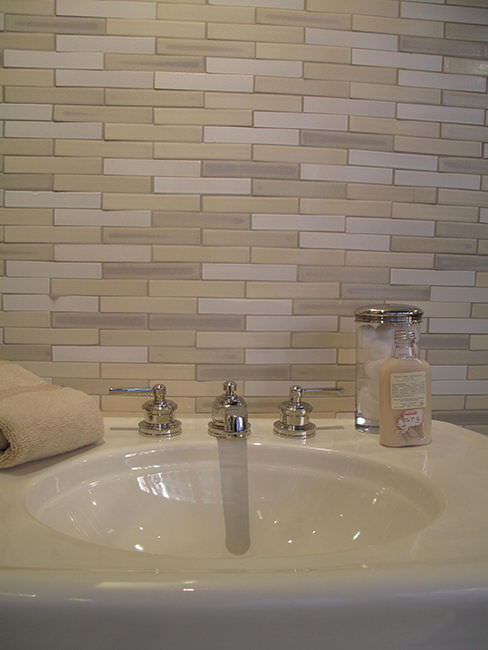 carrelage salle de bain en relief