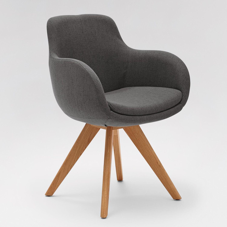 chaise de salle manger contemporaine tapiss e avec. Black Bedroom Furniture Sets. Home Design Ideas