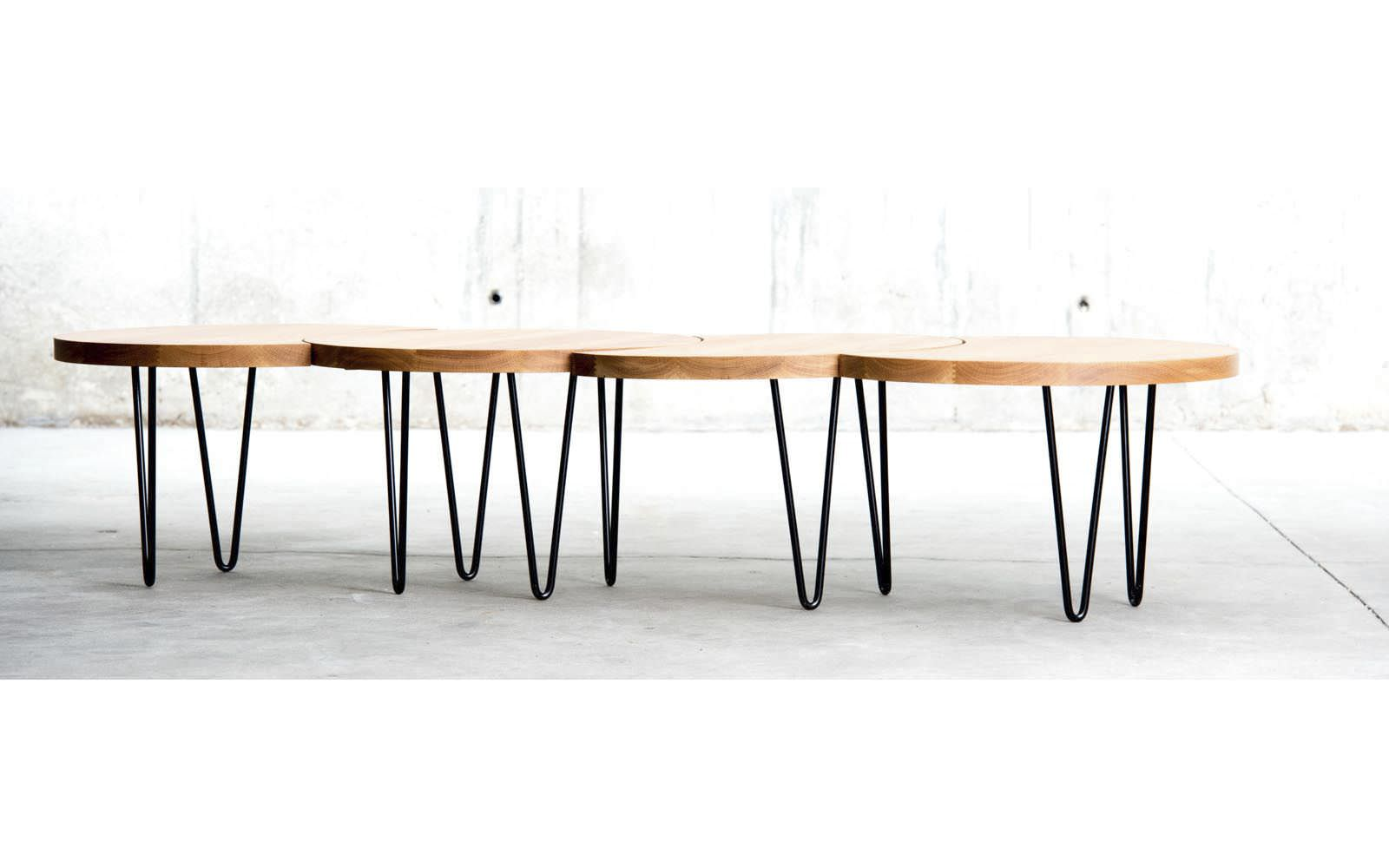 Table Basse Contemporaine En M Tal En Ch Ne En H Tre Oruga
