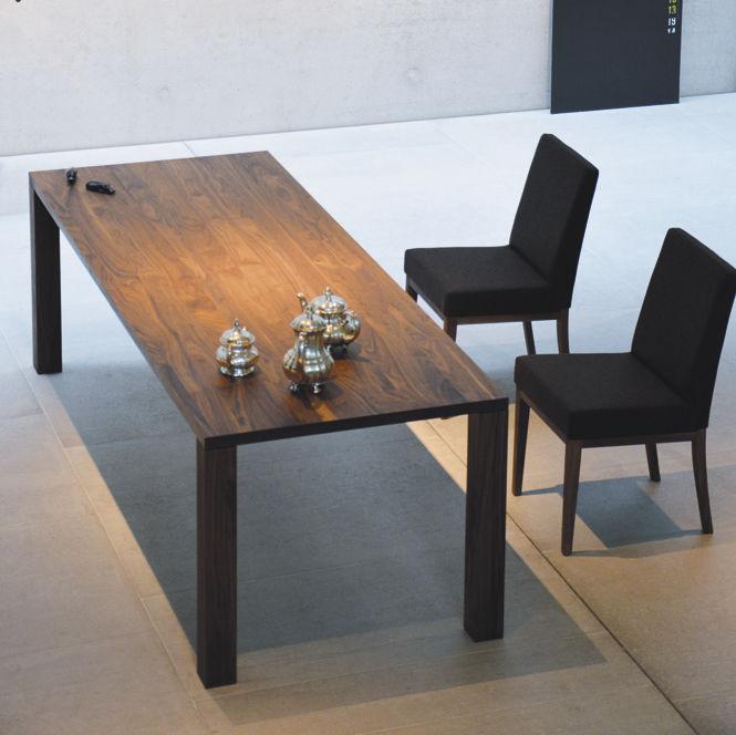 1361b095f898e3 table contemporaine   en plaqué bois   rectangulaire   de jardin - LEOS by Jan  Kurtz