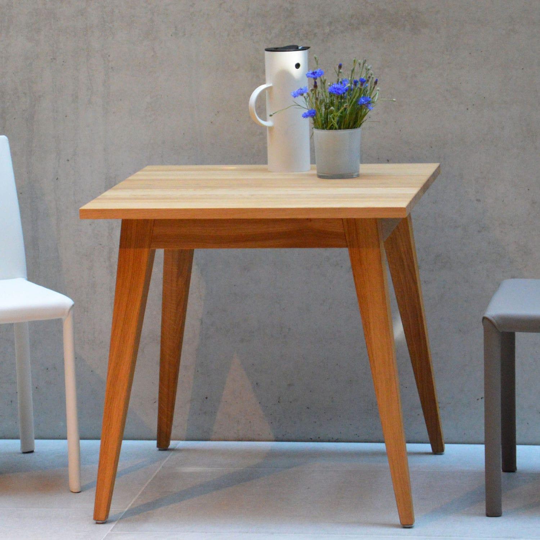 1c84efb0c5e77e table d appoint contemporaine   en plaqué bois   carrée - XAVER by Marcus  Hofbauer