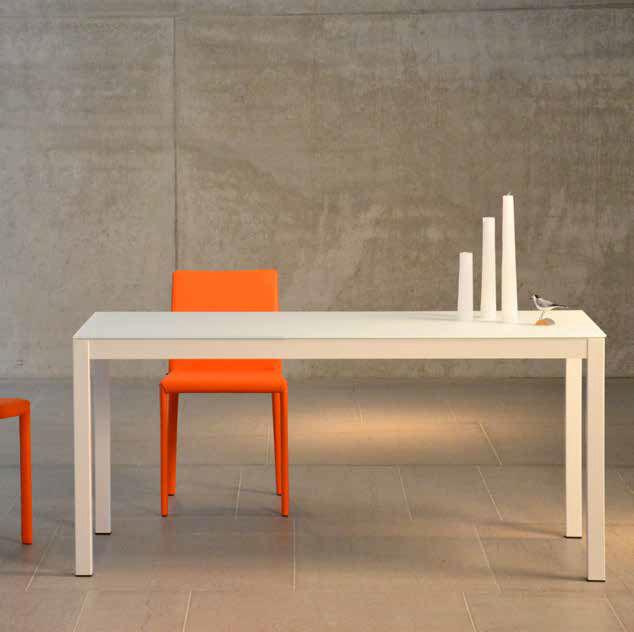 416ff6a78c1385 table contemporaine   en verre   rectangulaire   carrée - QUADRAT by Jan  Kurtz