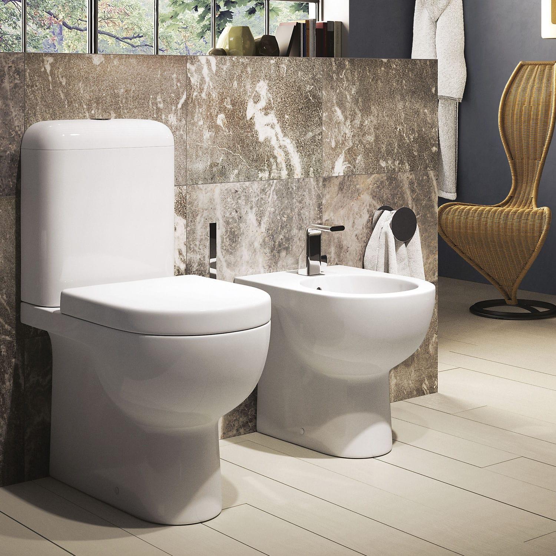 Salle De Bain Sol Effet Parquet ~ Toilettes Monobloc En C Ramique Quick Qk116 Qk39 Flaminia