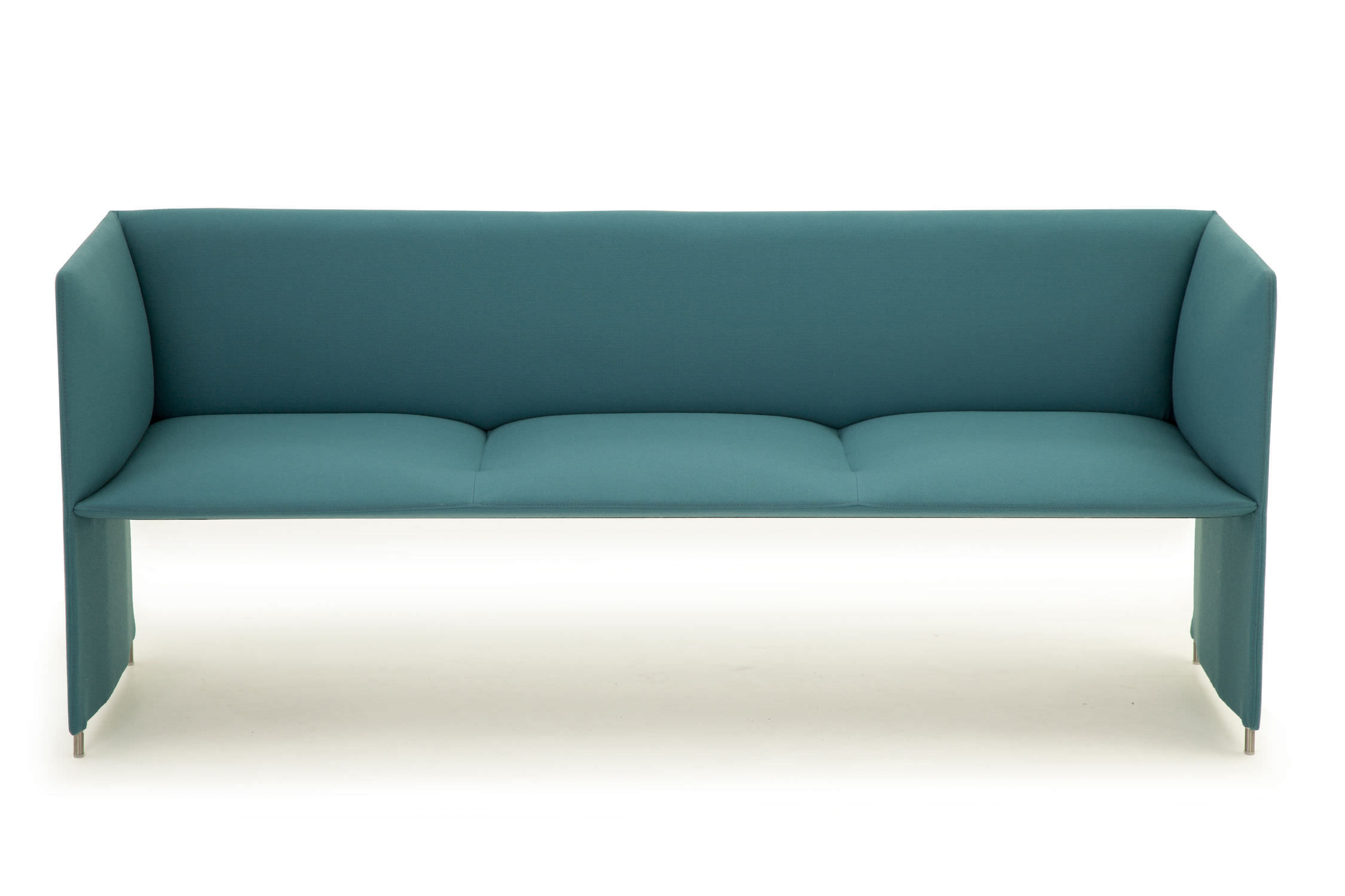 Banquette contemporaine / en tissu / bleue - MONO by Design ...