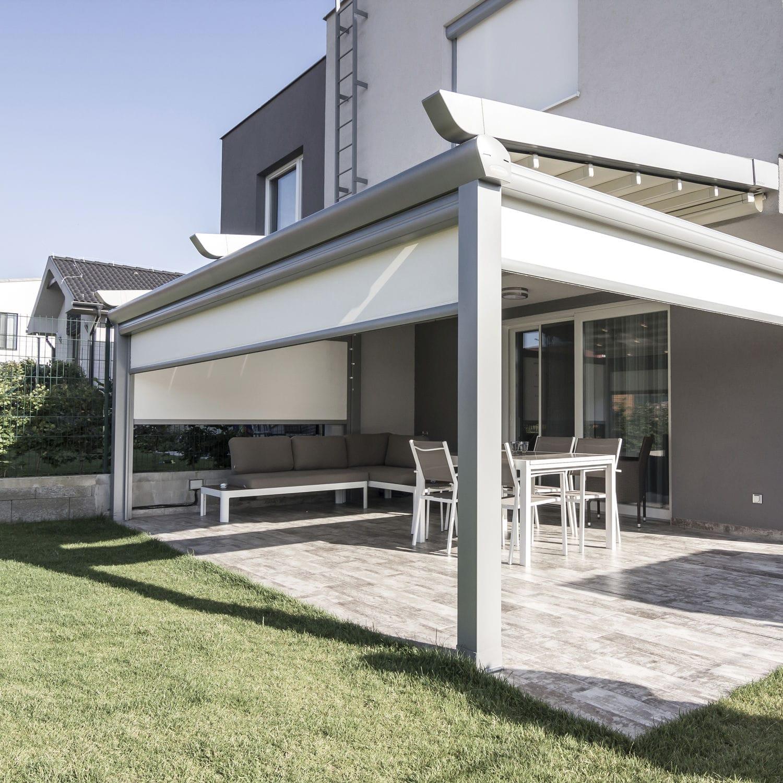 auvent retractable de terrasse / résidentiel - pergola alu