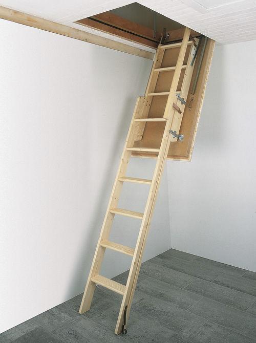 Escalier Coulissant Grenier #8: Ãu2030chelle Bois / Escamotable / Coulissante Columbus