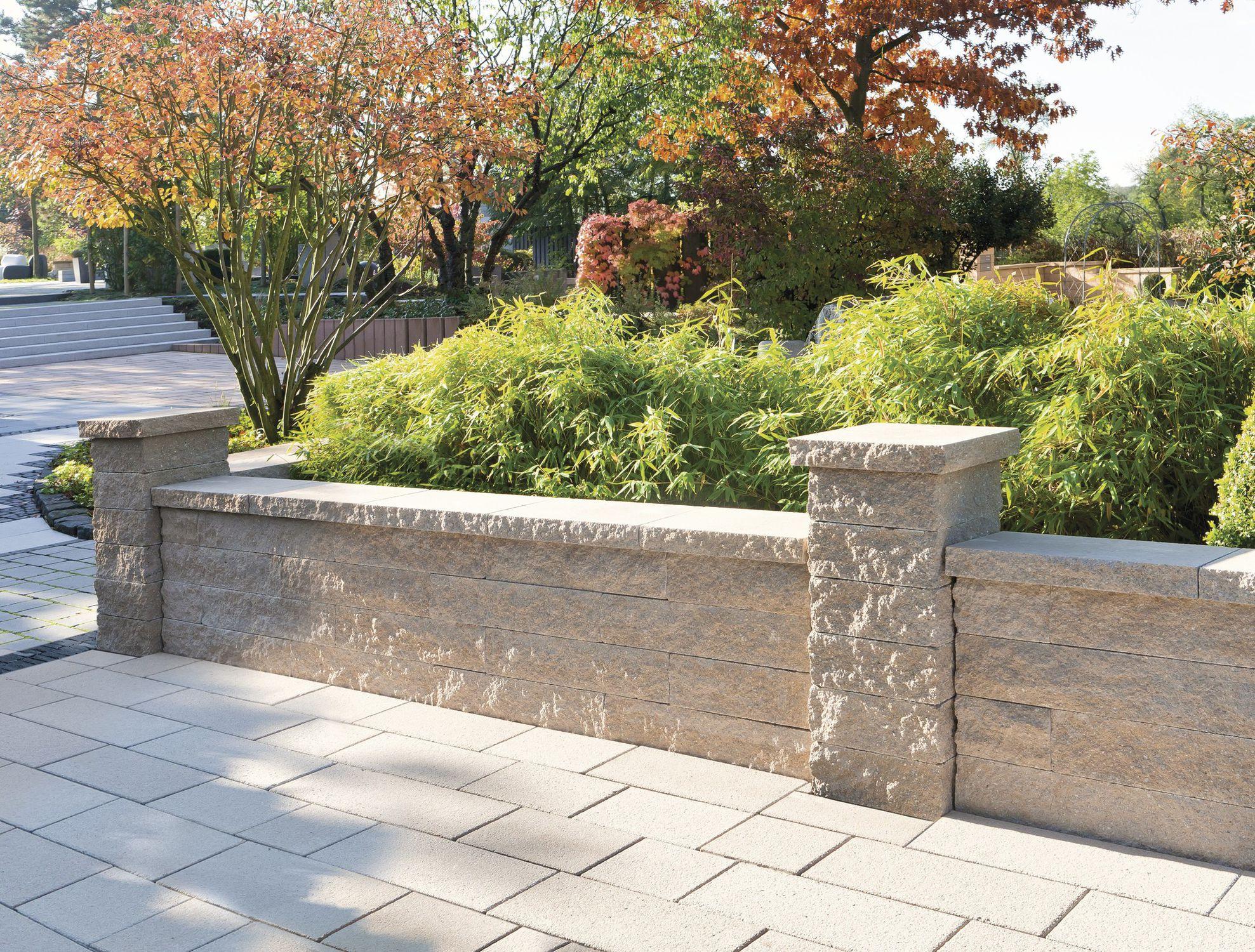 Super Bordure de jardin / en pierre naturelle / en hauteur - CATANIA  VG63