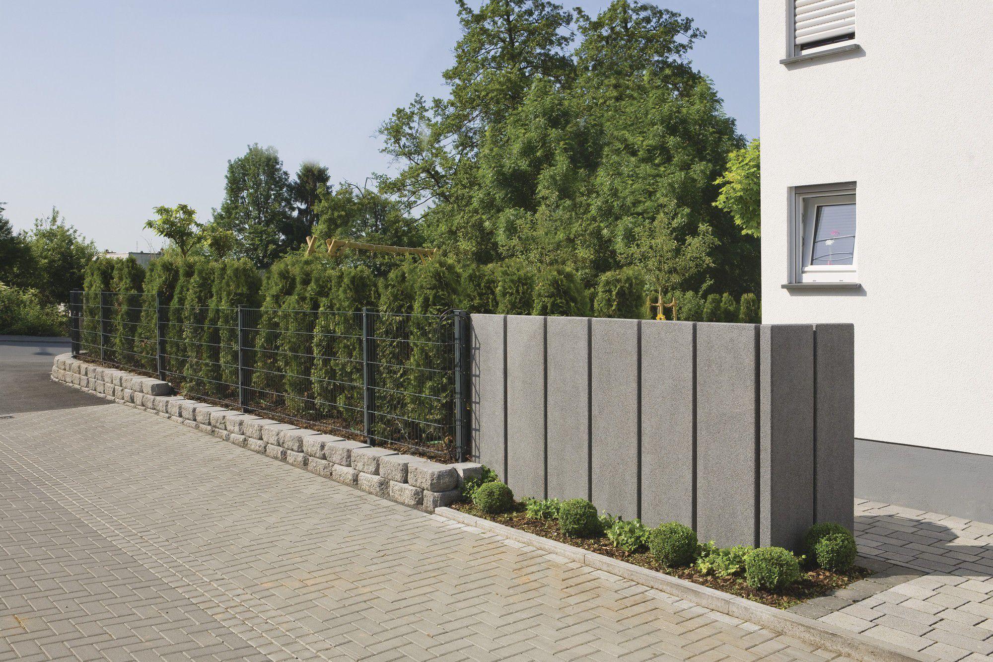 Cloture De Jardin En Beton #15: Mur De Soutènement En Béton ...
