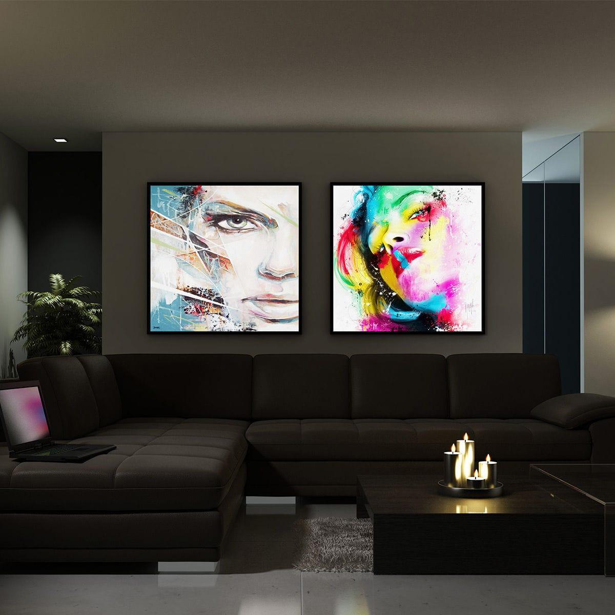 Panneau D Affichage Mural D Intérieur Lumineux à Led Ph 01